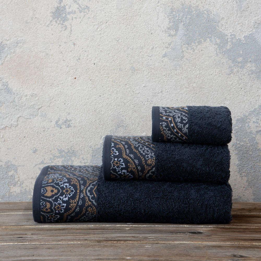 Πετσέτα Amonde Dark Gray Nima Χεριών 30x50cm