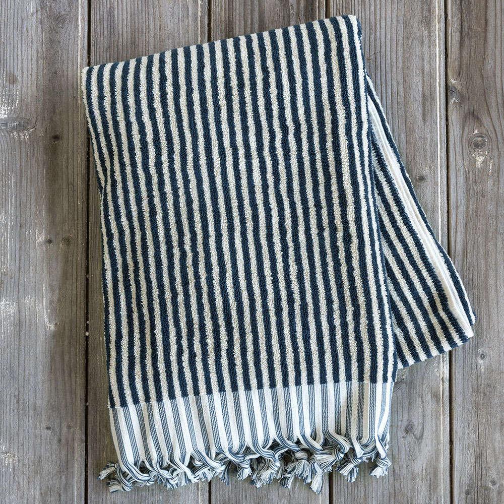 Πετσέτα Θαλάσσης Indigo Navy Nima Θαλάσσης 90x145cm