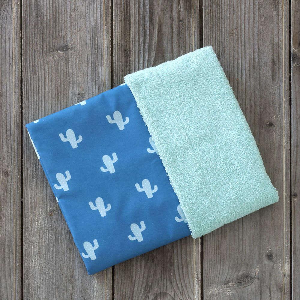 Πετσέτα Θαλάσσης Παιδική – Summer Baby Blue Nima Θαλάσσης 75x75cm