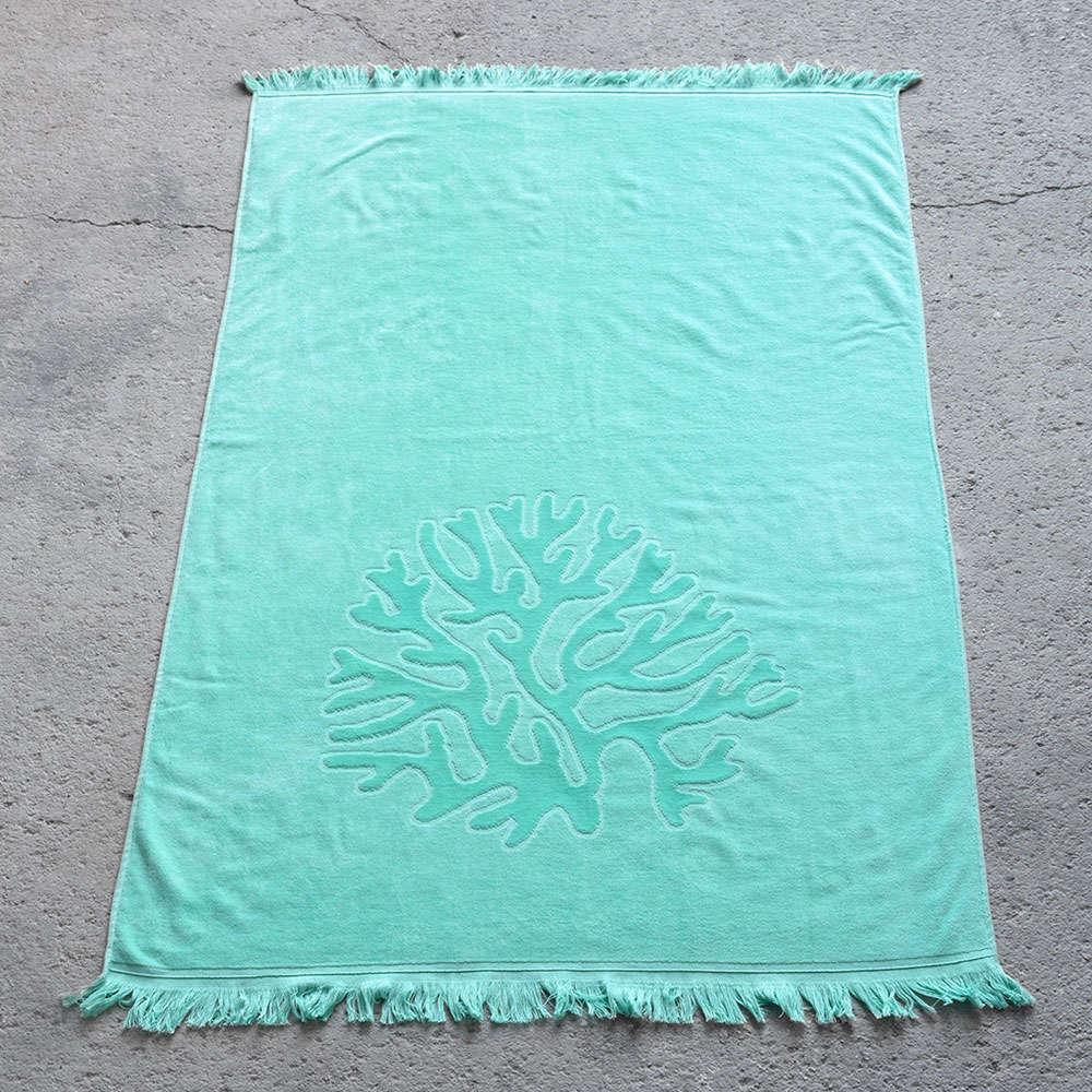Πετσέτα Θαλάσσης – Coral Emerald Nima Θαλάσσης 90x160cm