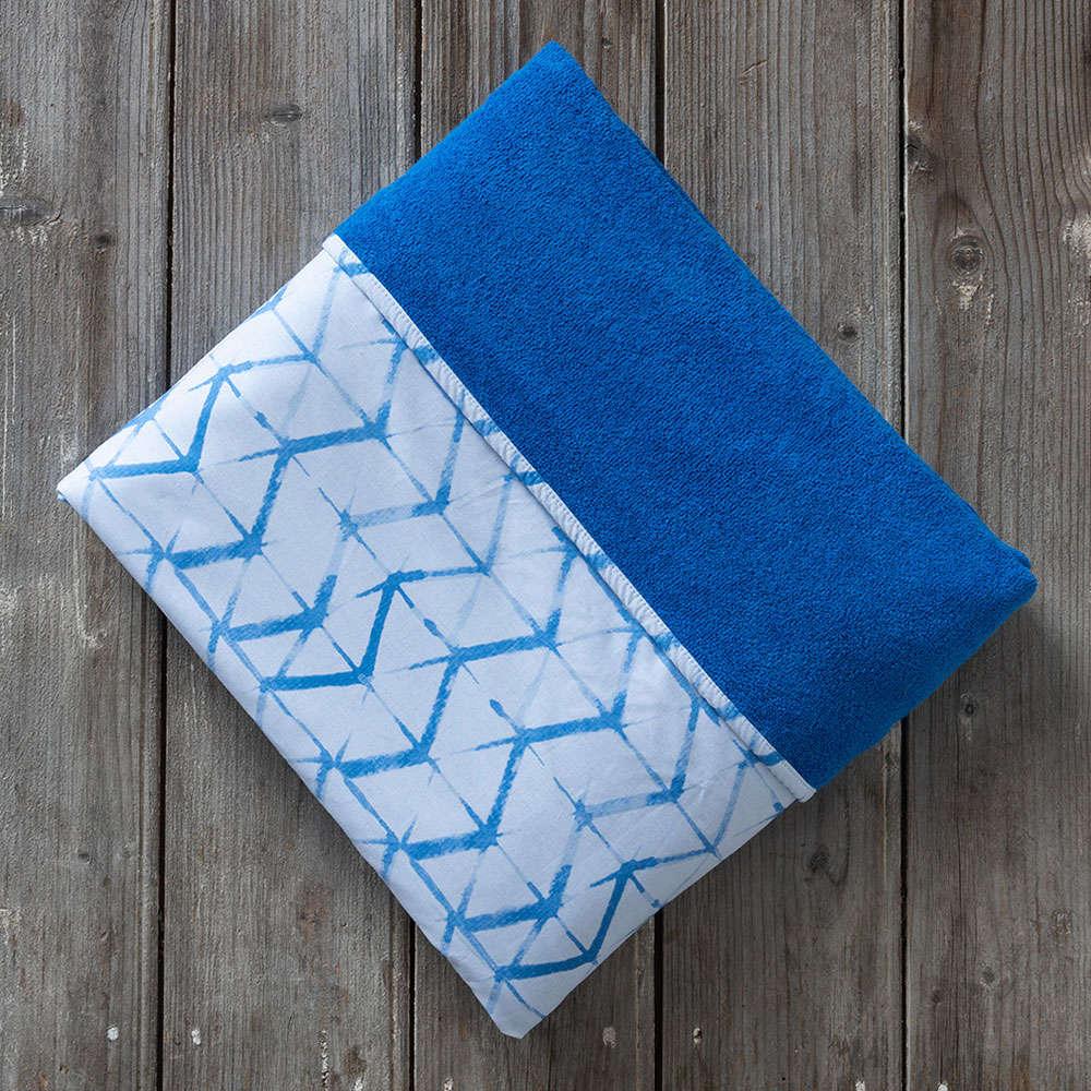 Πετσέτα Θαλάσσης Δύο Όψεων – Kanoko Blue Nima Θαλάσσης 150x200cm
