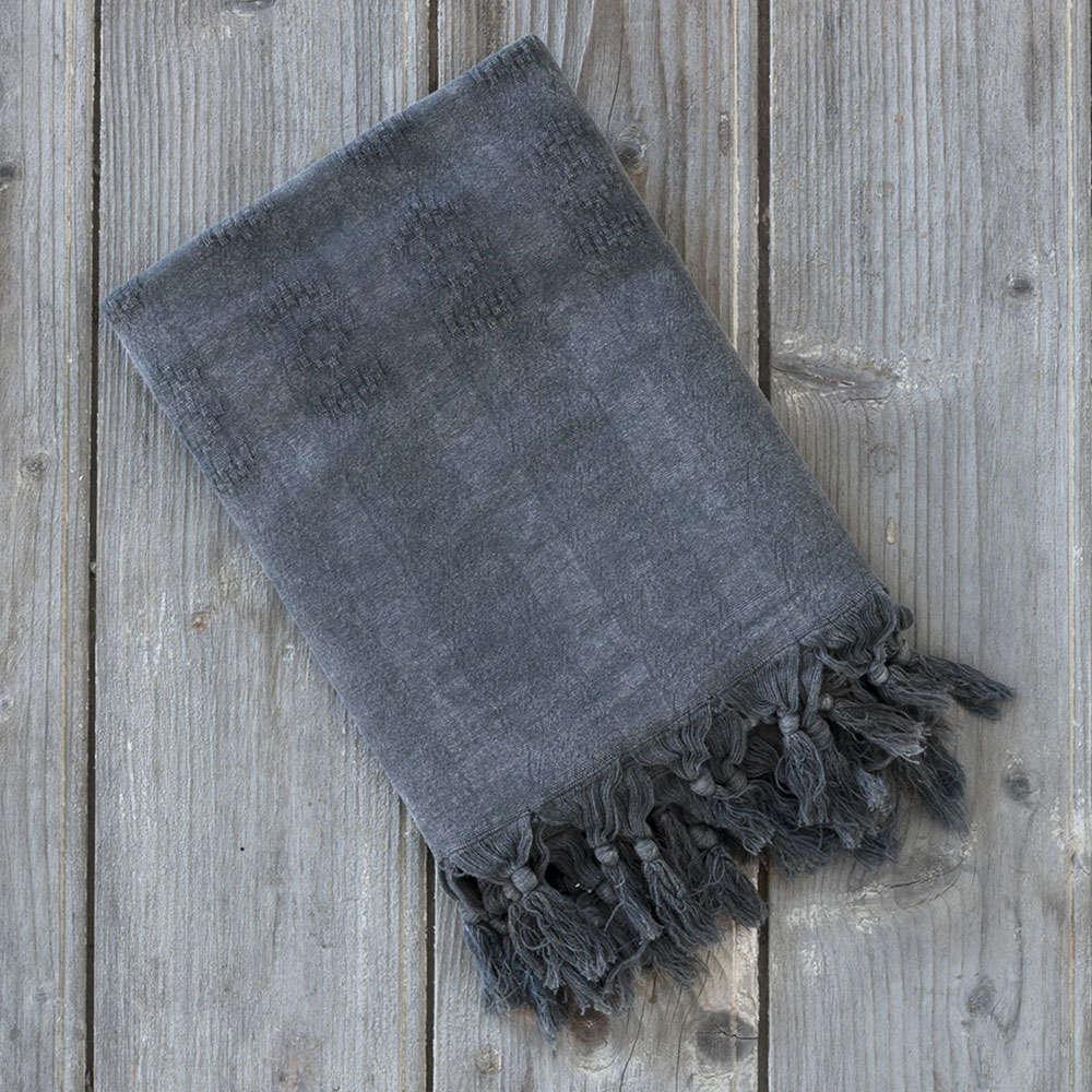 Πετσέτα Θαλάσσης – Παρεό – Argos Black Nima Θαλάσσης 95x150cm