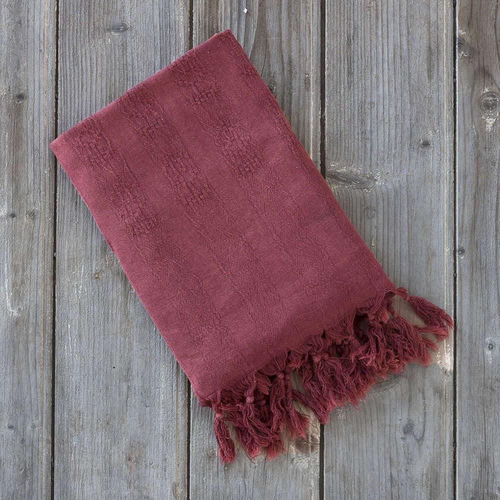 Πετσέτα Θαλάσσης – Παρεό – Argos Cherry Nima Θαλάσσης 95x150cm