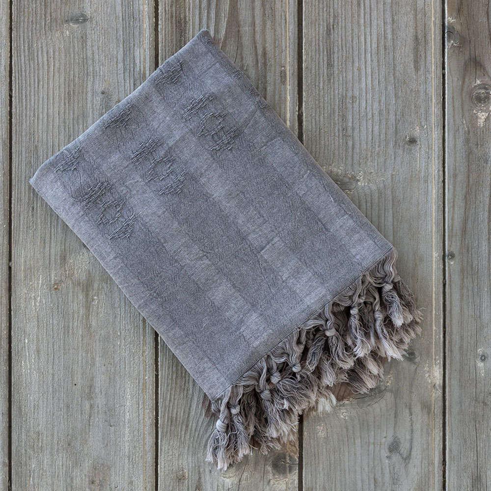 Πετσέτα Θαλάσσης – Παρεό – Argos Gray Nima Θαλάσσης 95x150cm