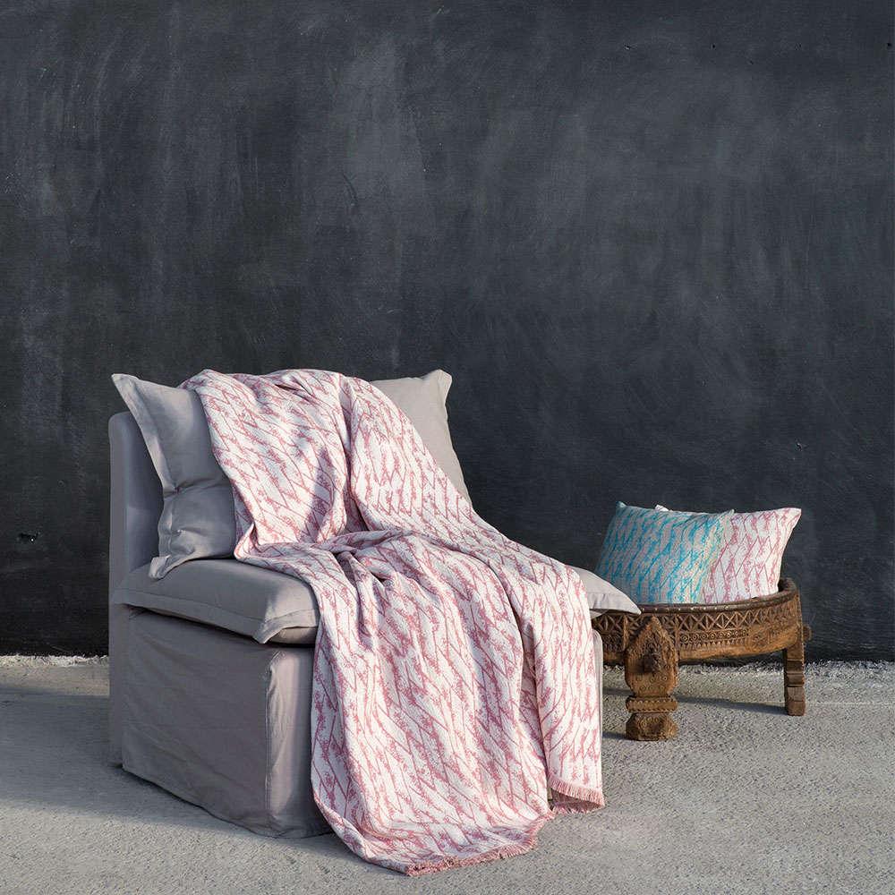 Ριχτάρι Teeter Pink Nima Τριθέσιο 180x300cm