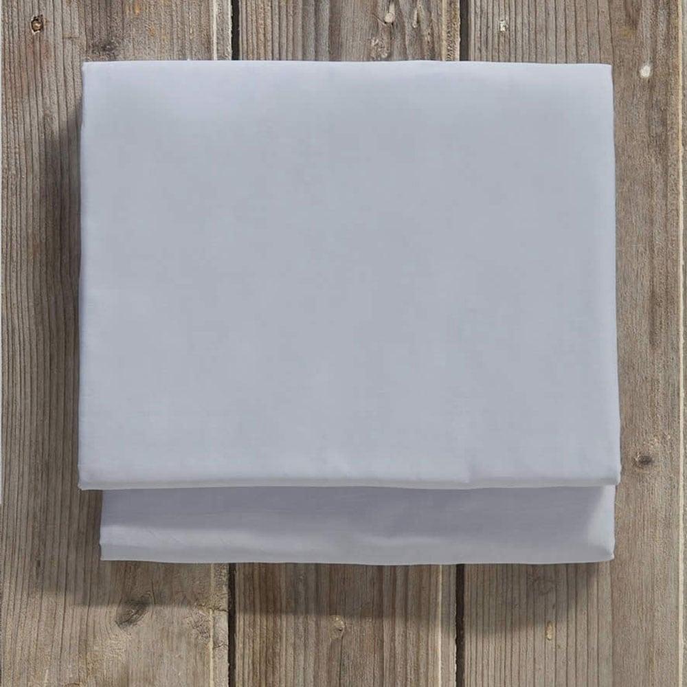 Σεντόνι Superior Satin Light Gray Nima Μονό 160x260cm