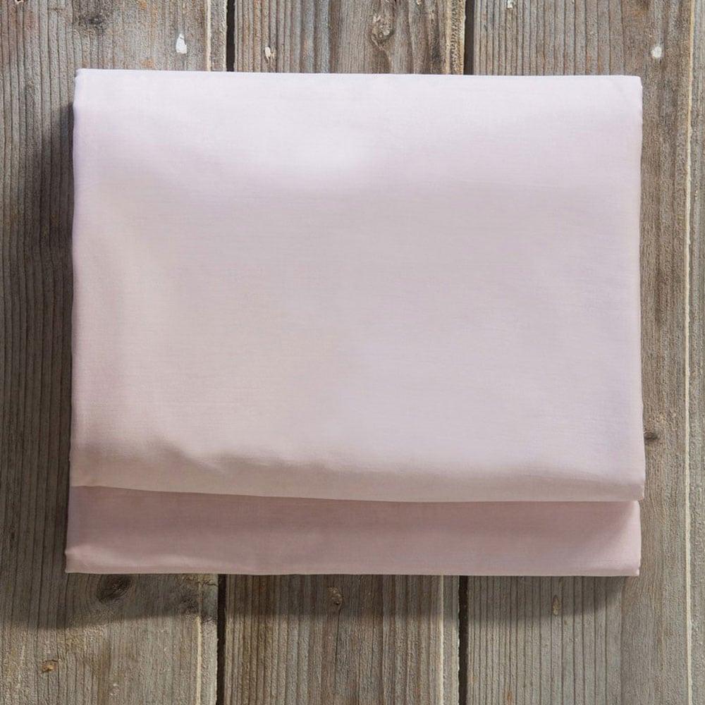 Σεντόνι Με Λάστιχο Superior Satin Pink Nima Ημίδιπλο