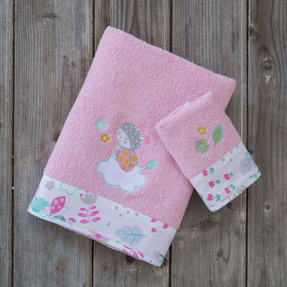 Πετσέτες Βρεφικές Σετ 2τμχ – Apiary Multi Nima Σετ Πετσέτες