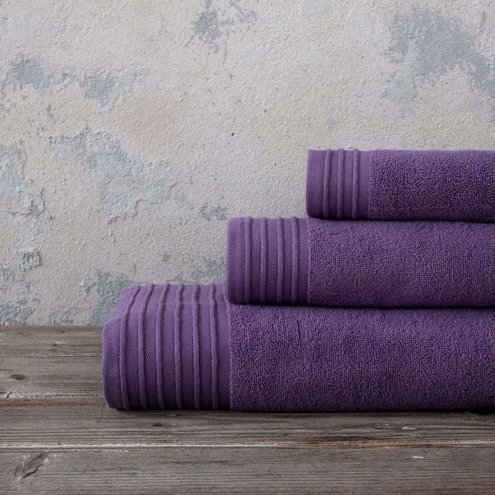 Πετσέτες Σετ 3τμχ Feel Fresh – Mauve Nima Σετ Πετσέτες