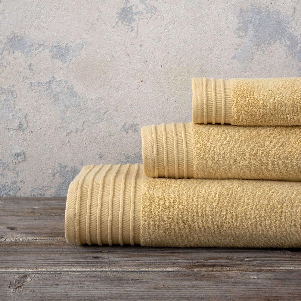 Πετσέτες Σετ 3τμχ Feel Fresh – Mexican Beige Nima Σετ Πετσέτες
