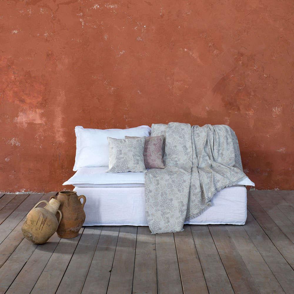 Διακοσμητικό Μαξιλάρι (Με Γέμιση) – Freesia Beige Nima 45X45 Βαμβάκι-Polyester