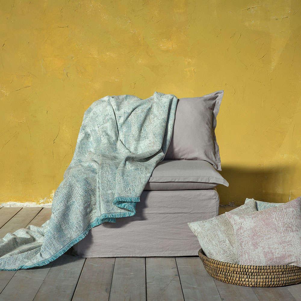 Διακοσμητικό Μαξιλάρι (Με Γέμιση) – Gaia Aqua Nima 45X45 Βαμβάκι-Polyester