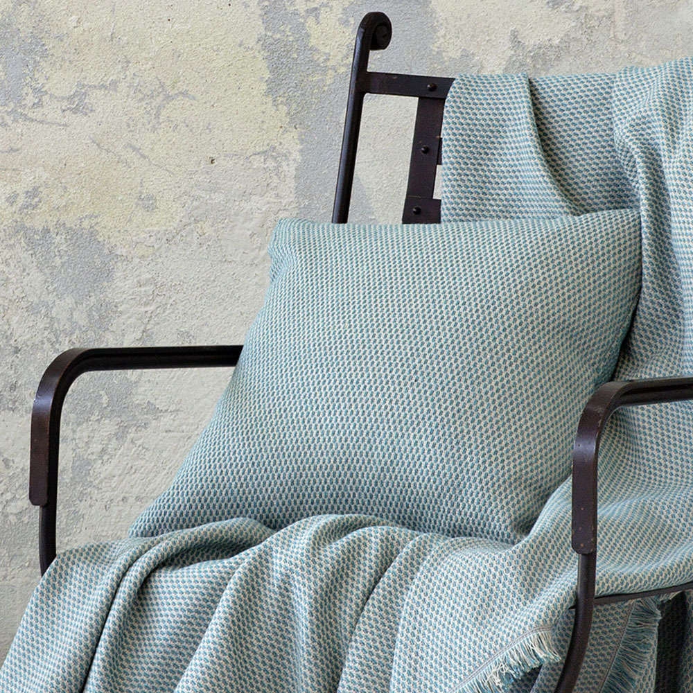 Διακοσμητικό Μαξιλάρι (Με Γέμιση) – Pinto Aqua Nima 45X45 Βαμβάκι-Polyester