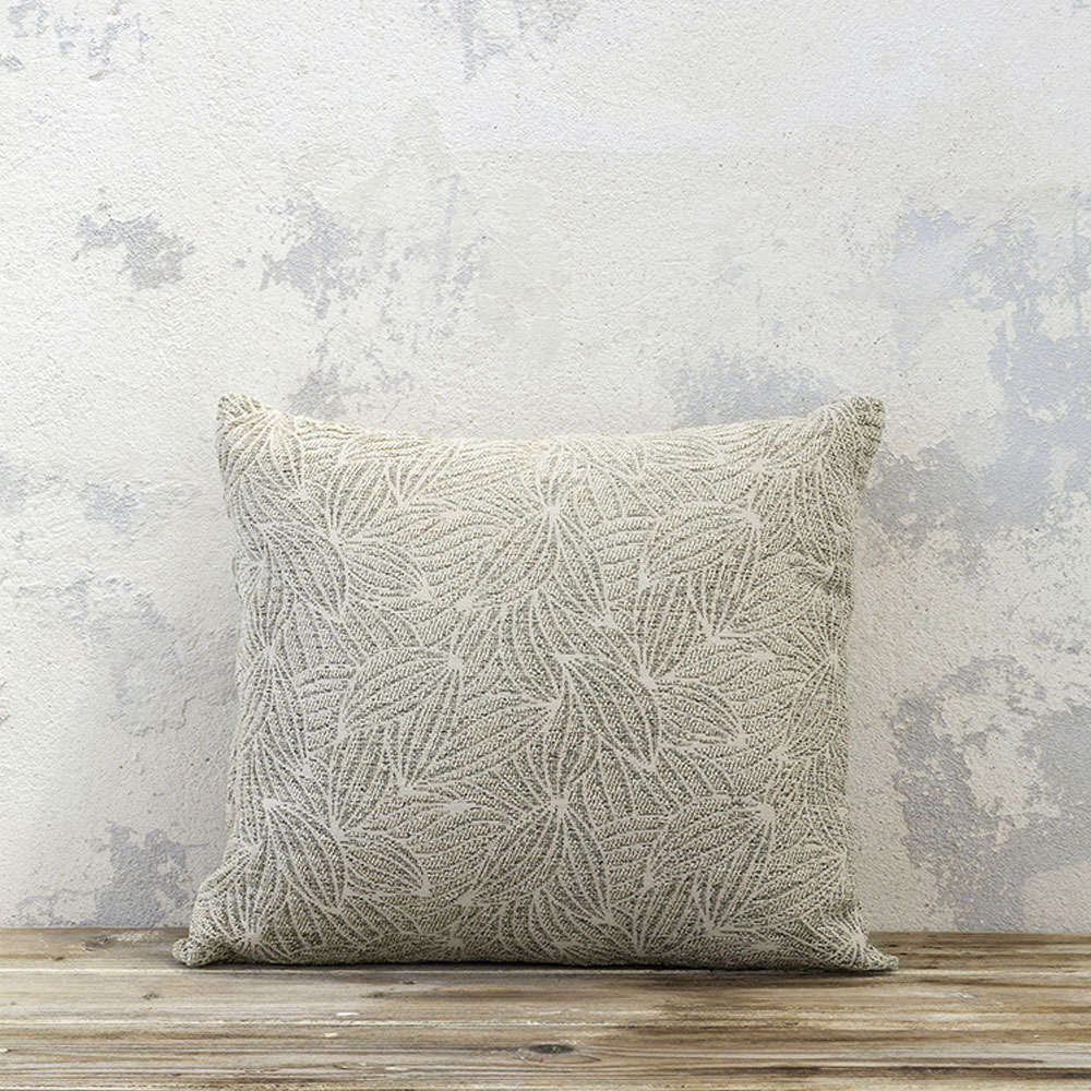 Μαξιλάρι Διακοσμητικό (Με Γέμιση) – Clivia Ivory Nima 45X45 Ακρυλικό-Polyester