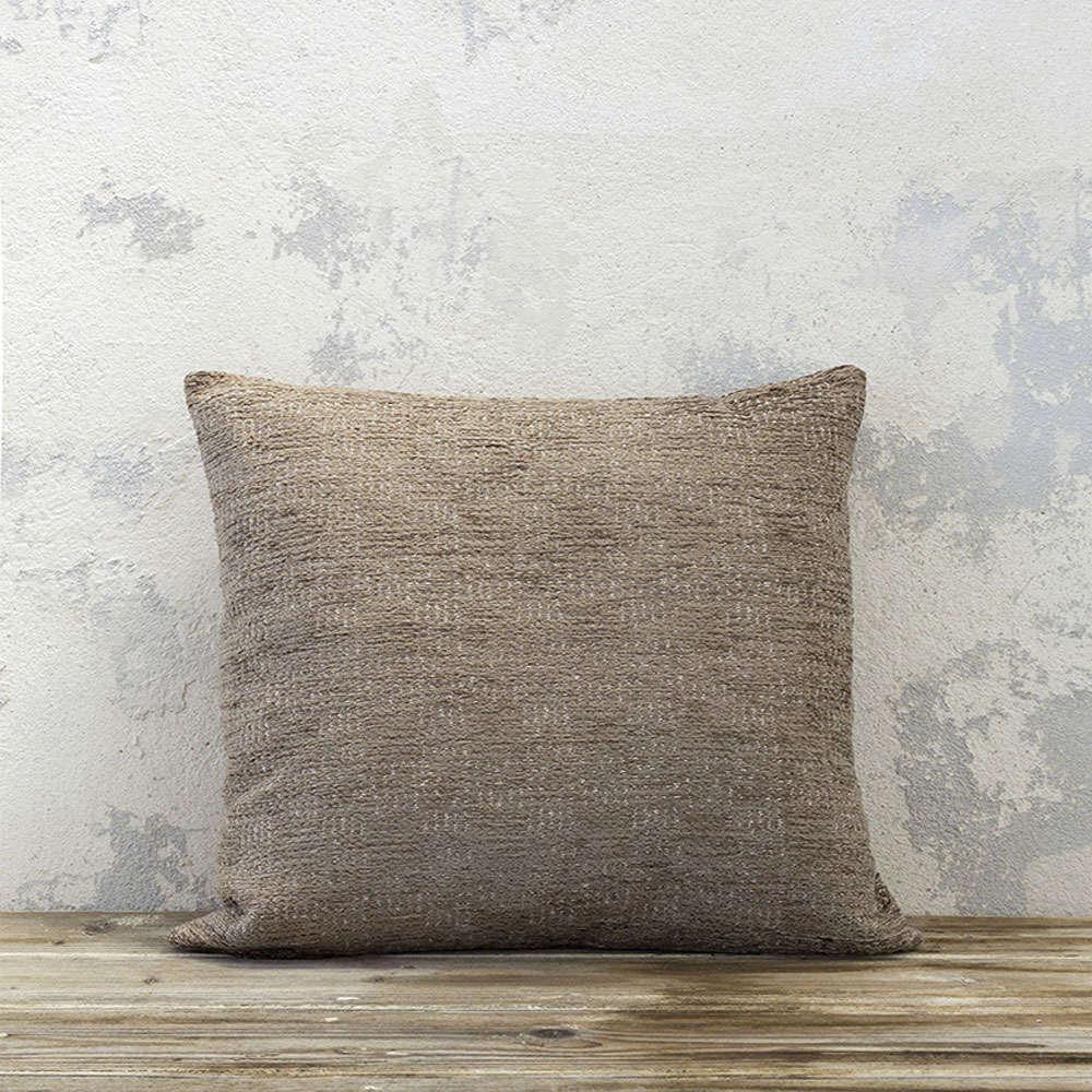 Μαξιλάρι Διακοσμητικό (Με Γέμιση) – Cuadro Dark Beige Nima 45X45 Ακρυλικό-Polyester