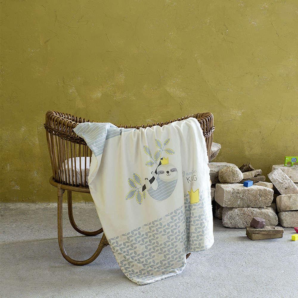 Κουβέρτα Βρεφική – King of Nap Ciel-Yellow Nima Κούνιας 110x140cm