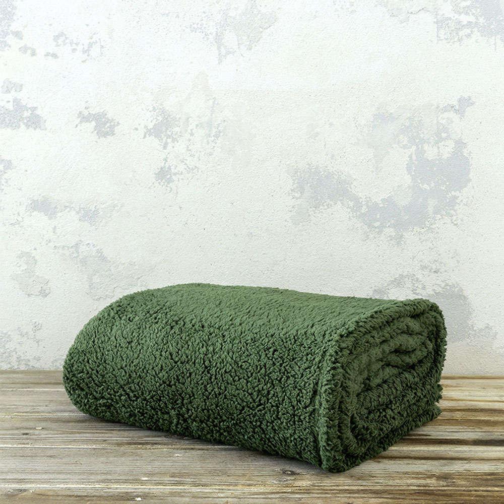 Κουβέρτα Manta – Forest Green Nima Υπέρδιπλo 220x240cm