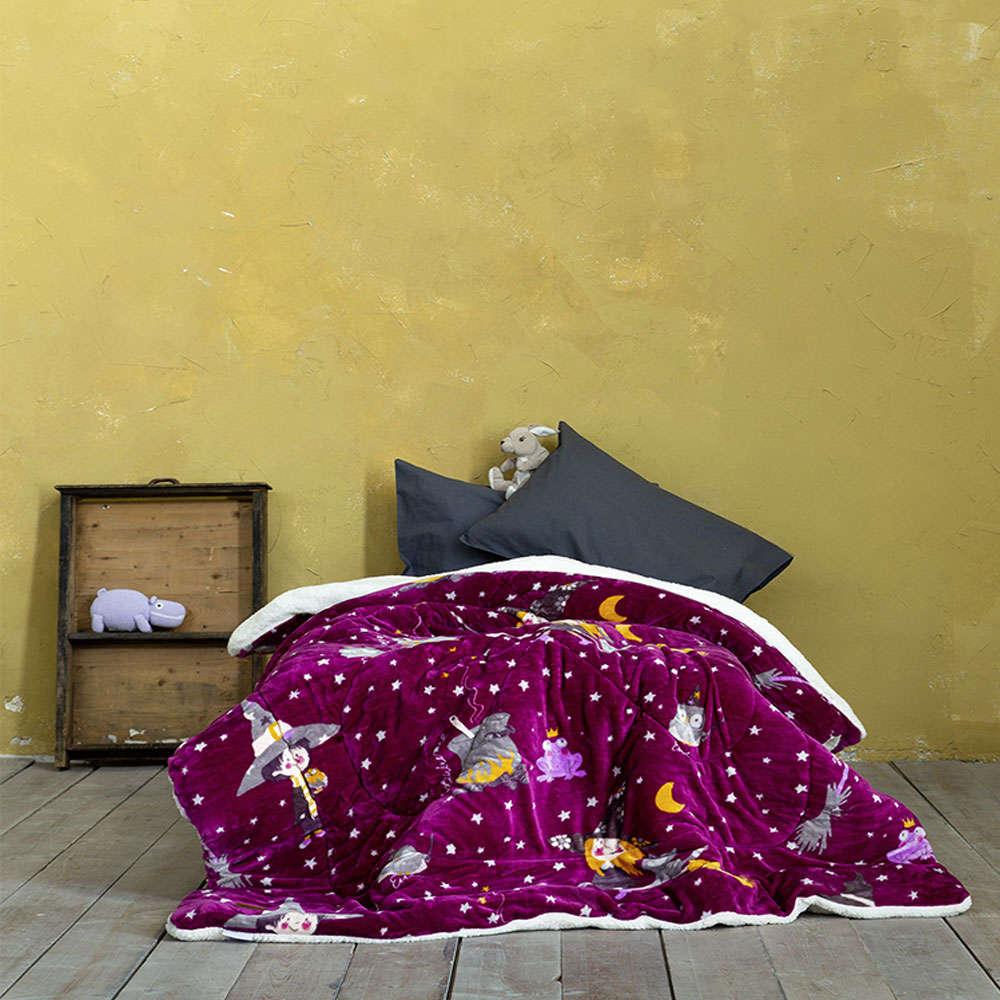 Κουβερτοπάπλωμα Παιδικό – Abracadabra Pomagranate Nima Μονό 150x220cm