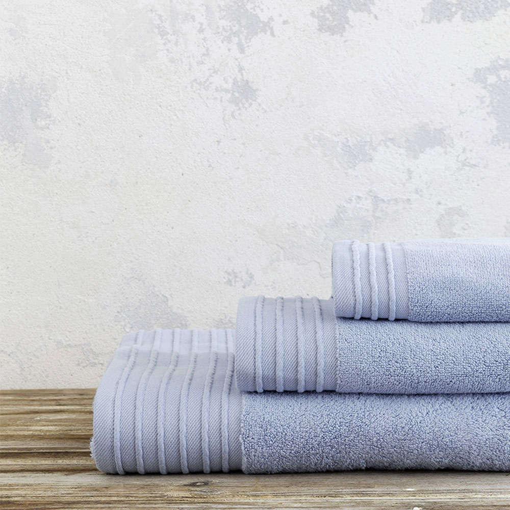 Πετσέτα Feel Fresh – Dusty Blue Nima Χεριών 40x60cm