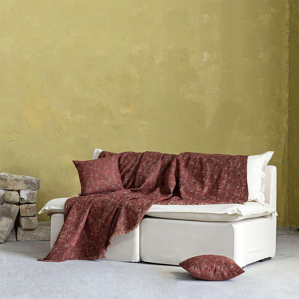 Ριχτάρι Clivia Terracotta Nima Τετραθέσιο 180x350cm