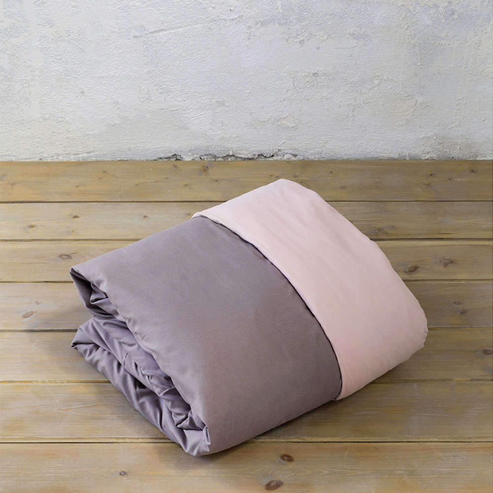 Παπλωματοθήκη Σετ 3τμχ Abalone – Pink-Brown Nima Υπέρδιπλo 220x240cm