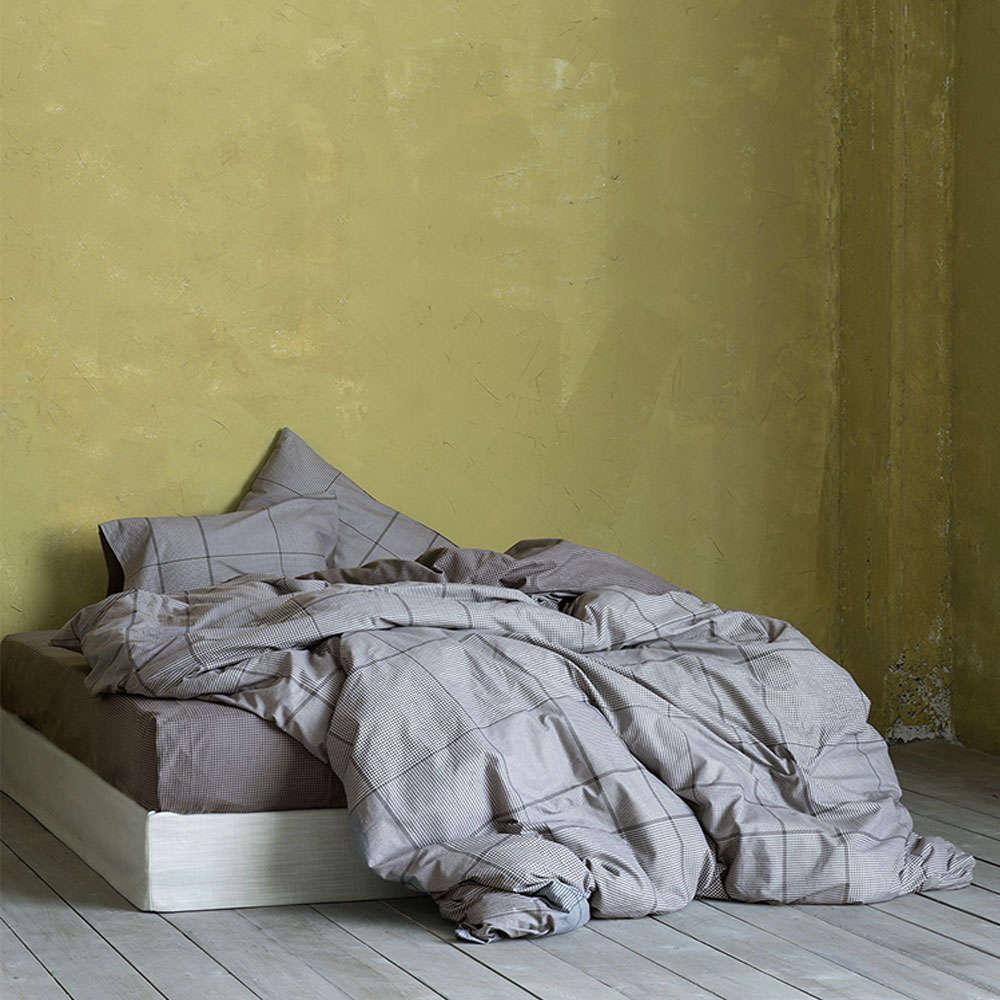 Σεντόνια Σετ 4τμχ – Noble Grey Nima Διπλό 220x260cm