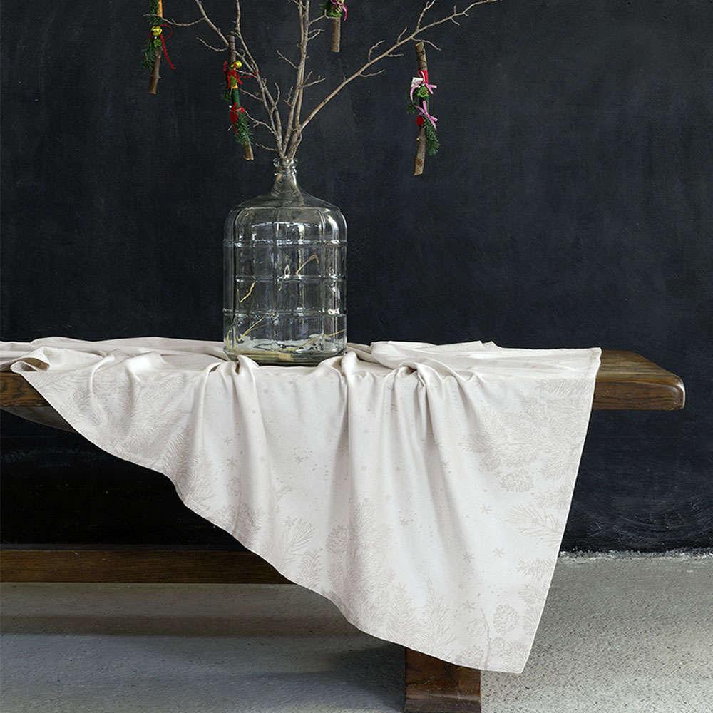 Τραπεζομάντηλο Χριστουγεννιάτικο – Vino Caliente Beige Nima 170X250 165x265cm