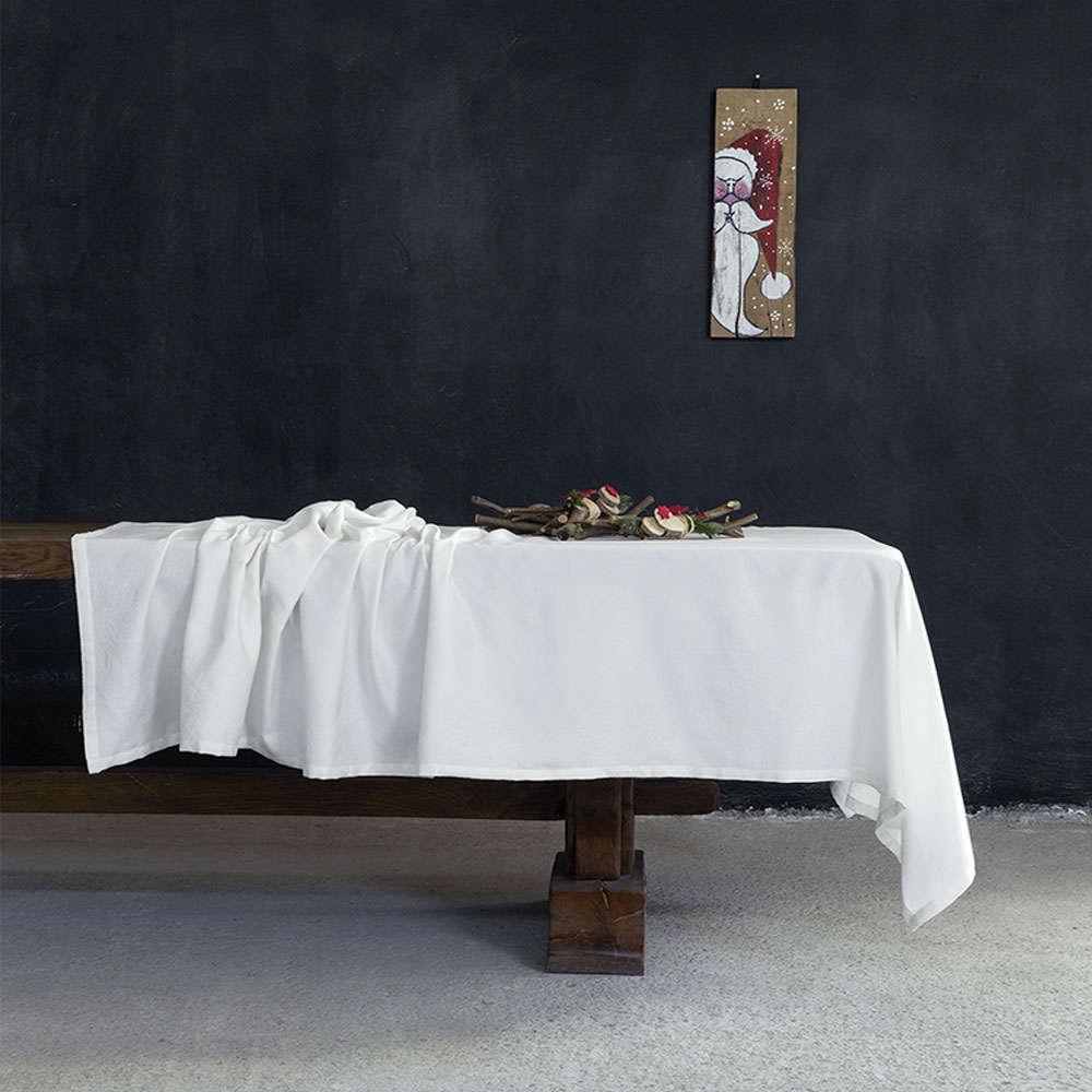 Τραπεζομάντηλο Χριστουγεννιάτικο – Vino Caliente Off White Nima 170X250 165x265cm