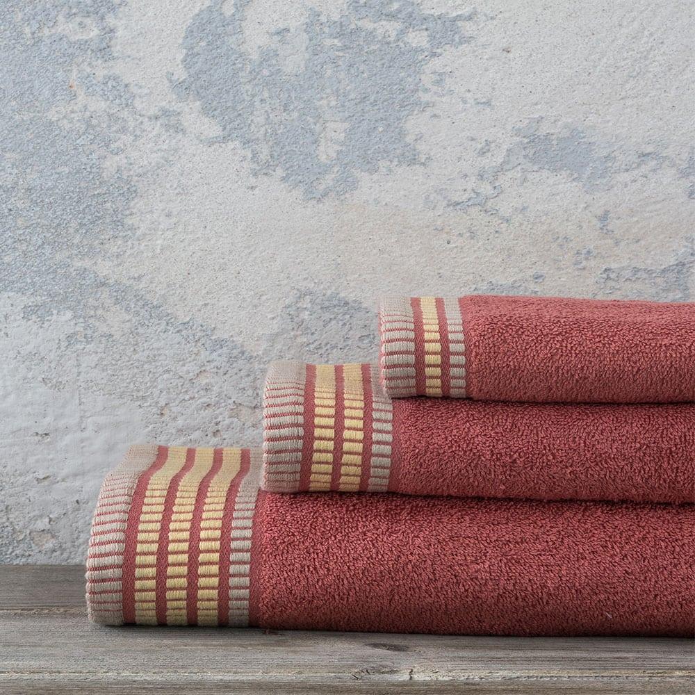Πετσέτες Σετ 3τμχ Siren – Tan Nima Σετ Πετσέτες