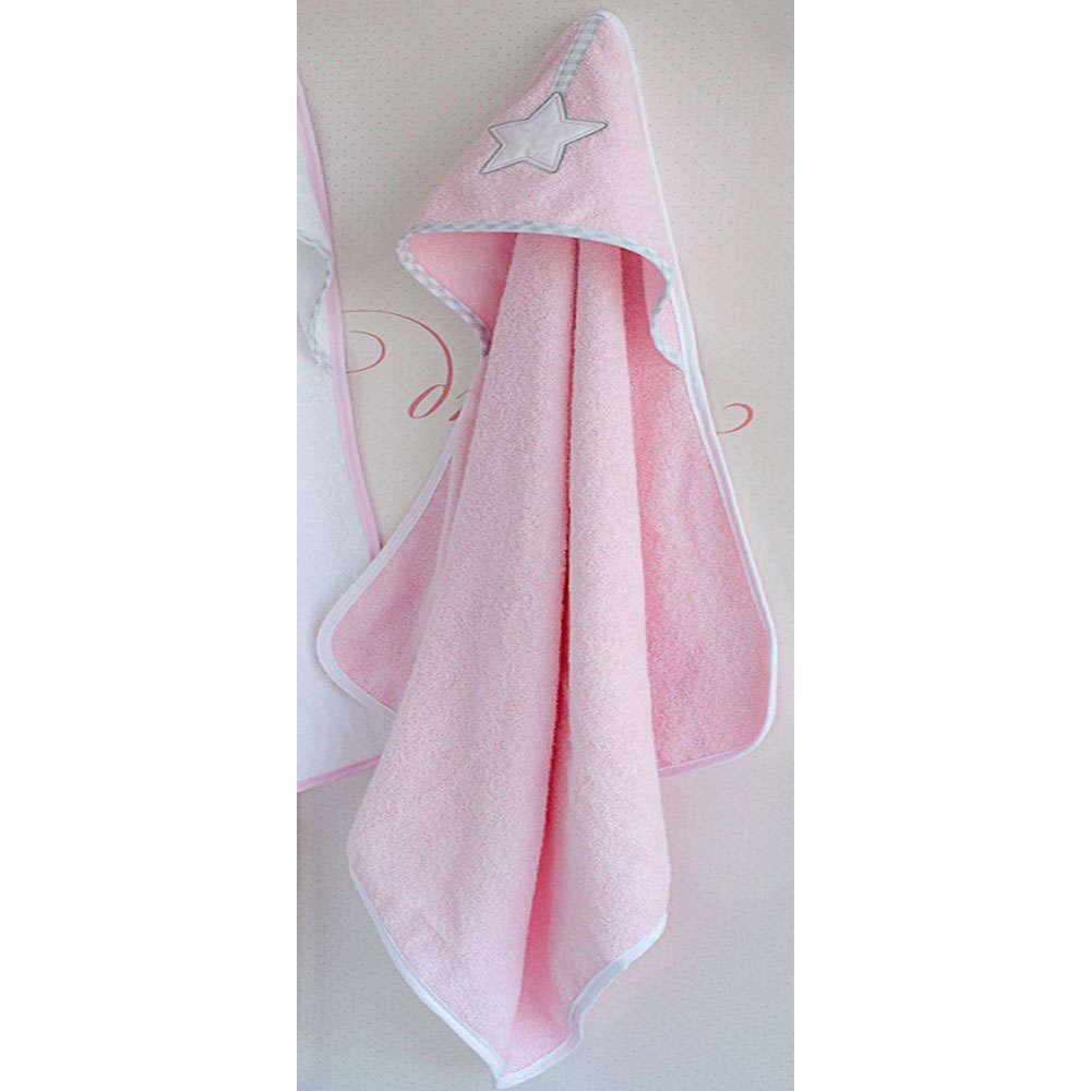 Κάπα Βρεφική Σχ. 308-Lucky Star Pink Baby Oliver 0-2 ετών One Size