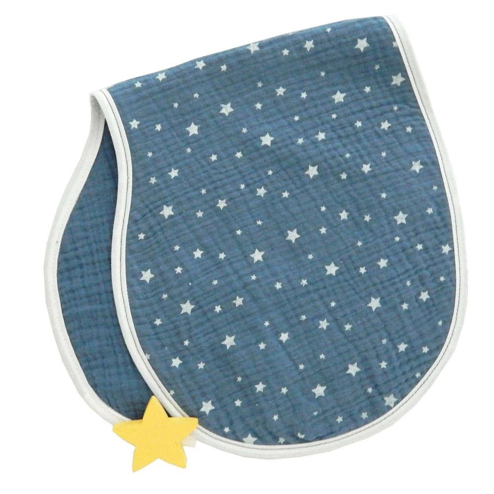 Πανάκι Ώµου Διπλής Όψης Σχ. 374 Muslin Blue Baby Oliver 26x59cm