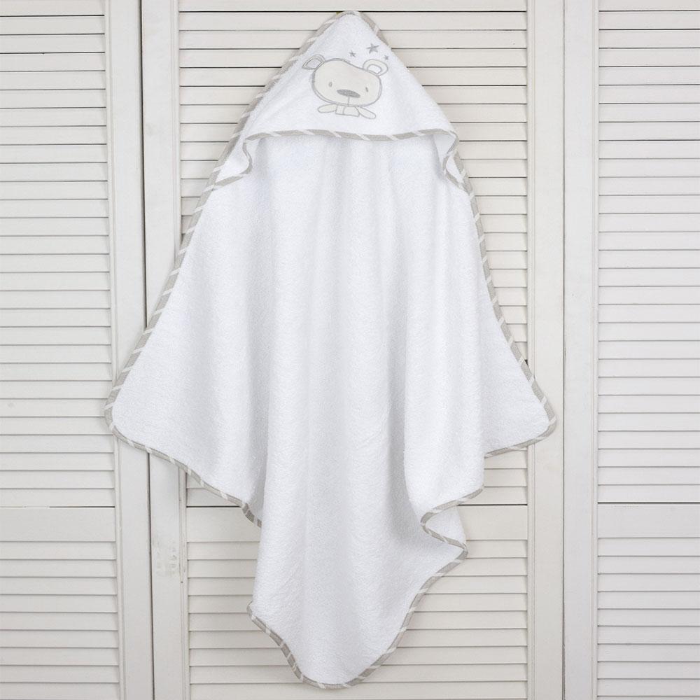 Κάπα Βρεφική Des: 350-Sweet Teddy White-Beige Baby Oliver 0-2 ετών One Size
