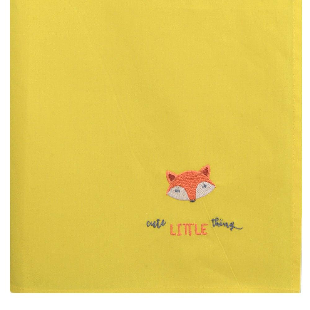 Πάνα Βρεφική Χασέ Des: 145 Yellow Baby Oliver 80x80cm