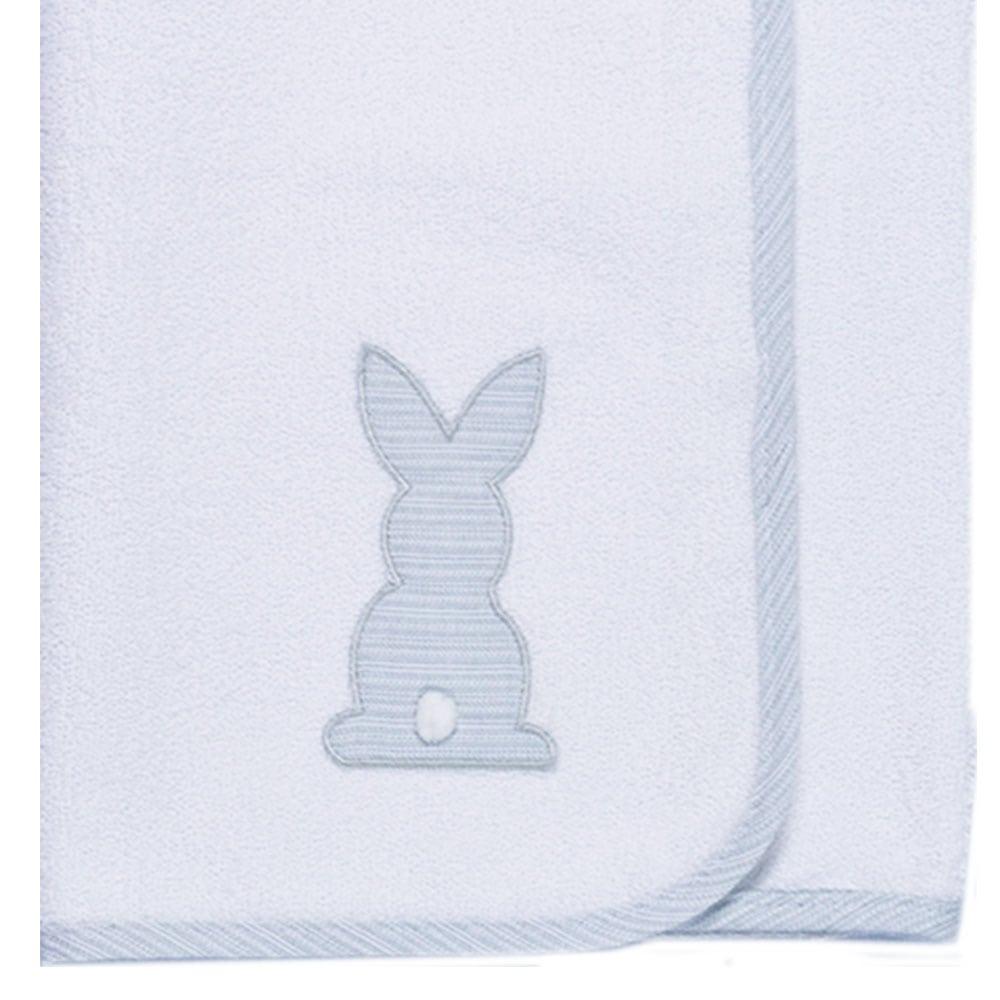 Σελτεδάκι Βρεφικό Des: 356-Bunny White-Grey Baby Oliver 50x70cm