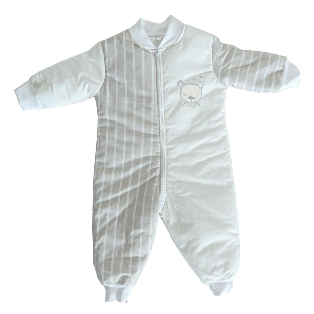 Υπνόφορμα Βρεφική Des: 350-Sweet Teddy White-Beige Baby Oliver 0-2 ετών One Size
