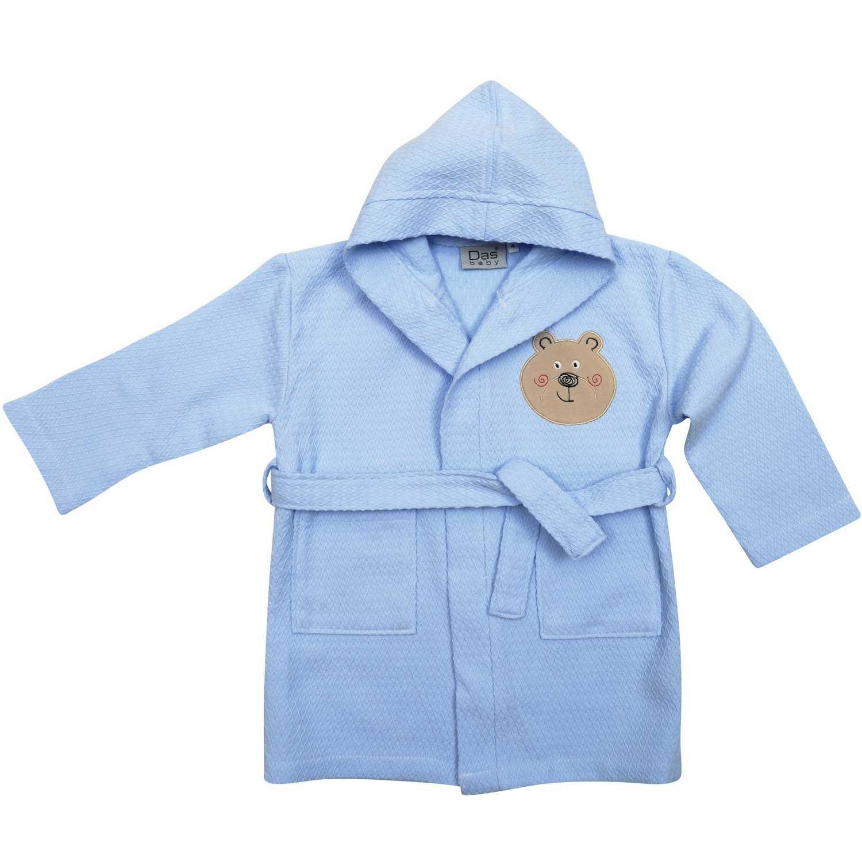 Μπουρνούζι Βρεφικό 6388 Baby Smile Embroidery Ciel Das Baby 2-4 ετών No 4