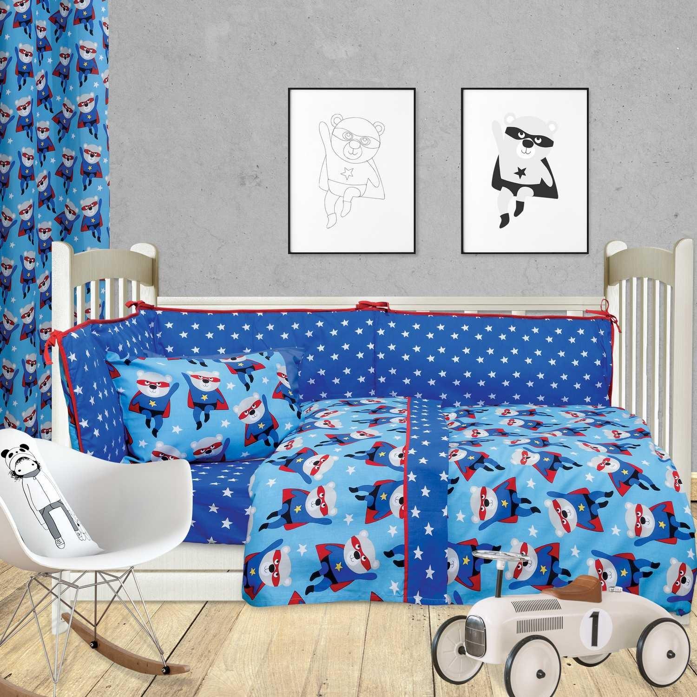 Πάντα Κούνιας 6415 Fun Blue-Red Das Baby 95x145cm