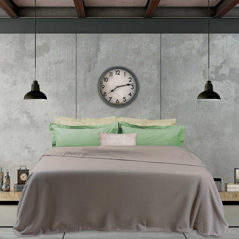Κουβέρτα Fleece 365 Beige Das Home Υπέρδιπλo 220x240cm
