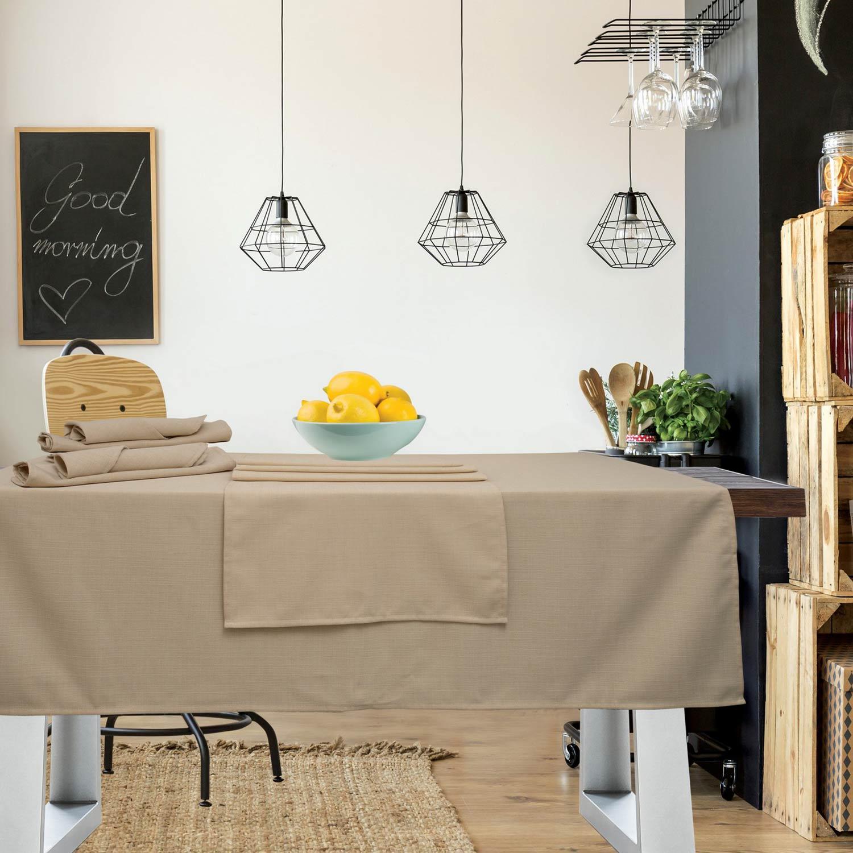 Τραπεζομάντηλο Kitchen 547 Beige Das Home 150X250
