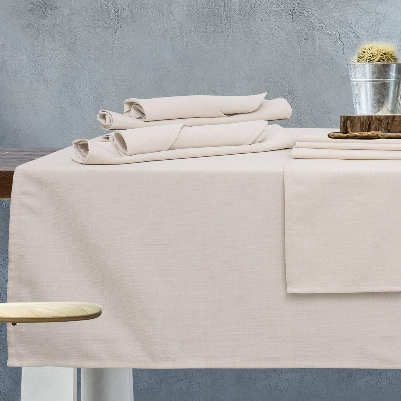 Πετσέτες Φαγητού Σετ Kitchen 544 Ivory 4τμχ Das Home 40x40cm