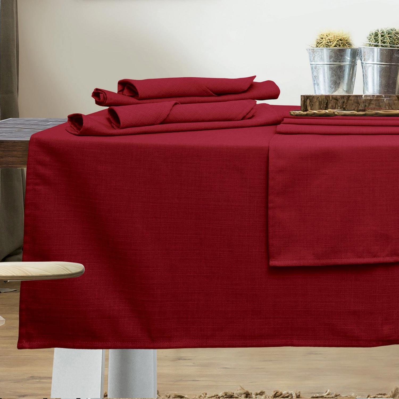 Πετσέτες Φαγητού Σετ Kitchen 545 Red 4τμχ Das Home 40x40cm