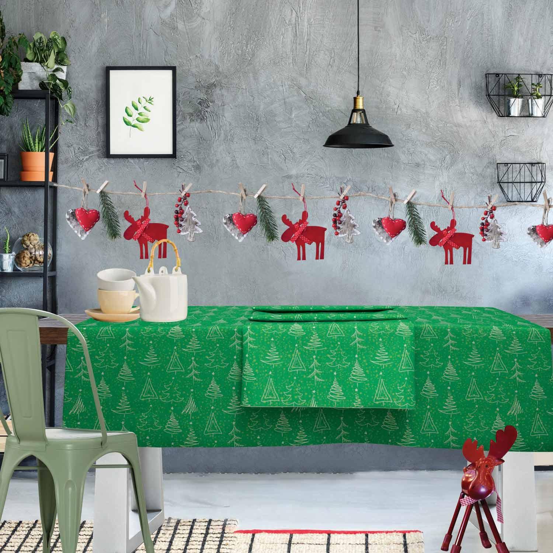 Τραπεζομάντηλο Christmas Kitchen 552 Green Das Home 150X250