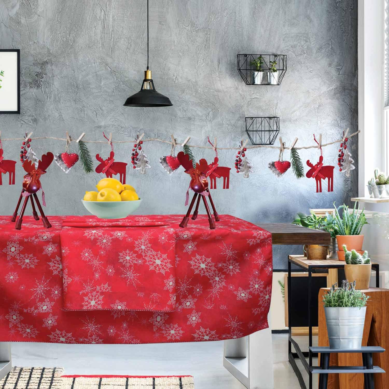 Τραπεζομάντηλο Christmas Kitchen 553 Red Das Home 150X150