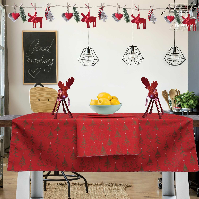 Runner Christmas Kitchen 550 Red-Green Das Home 50Χ150