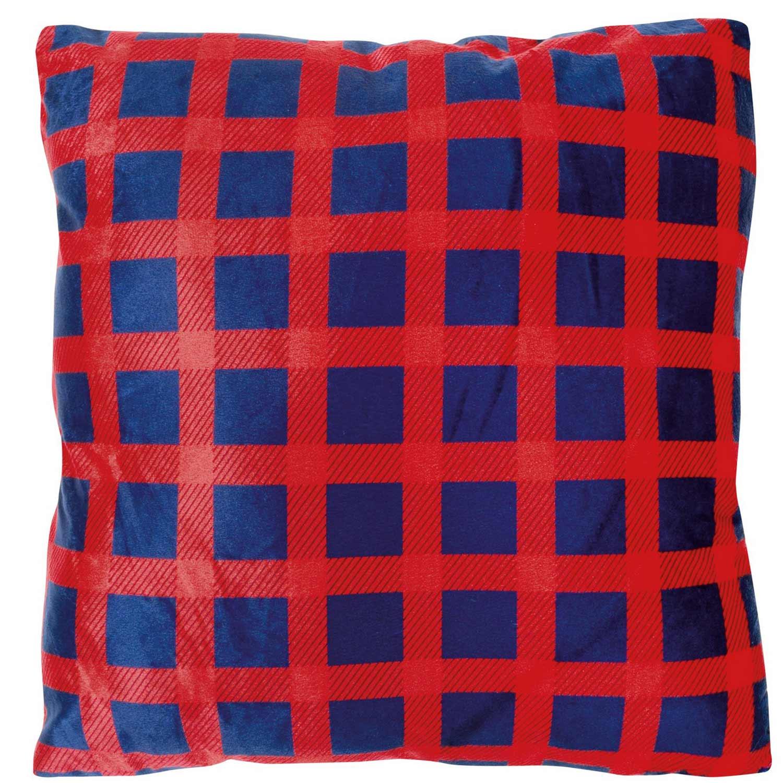 Διακοσμητικό Μαξιλάρι με Γέμιση 369 Red-Blue Das Home 50X50