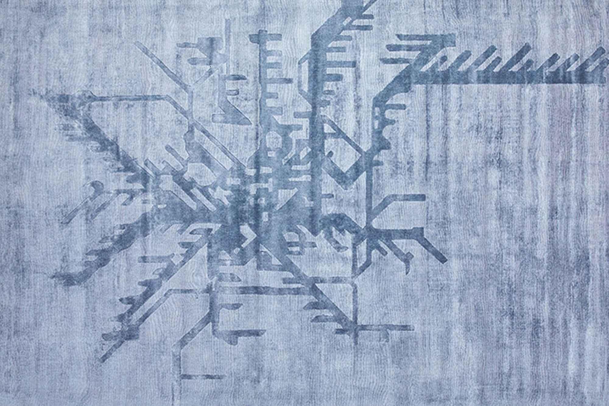 Χαλί Metropolitan Dusty Blue Carpet Couture 200X300