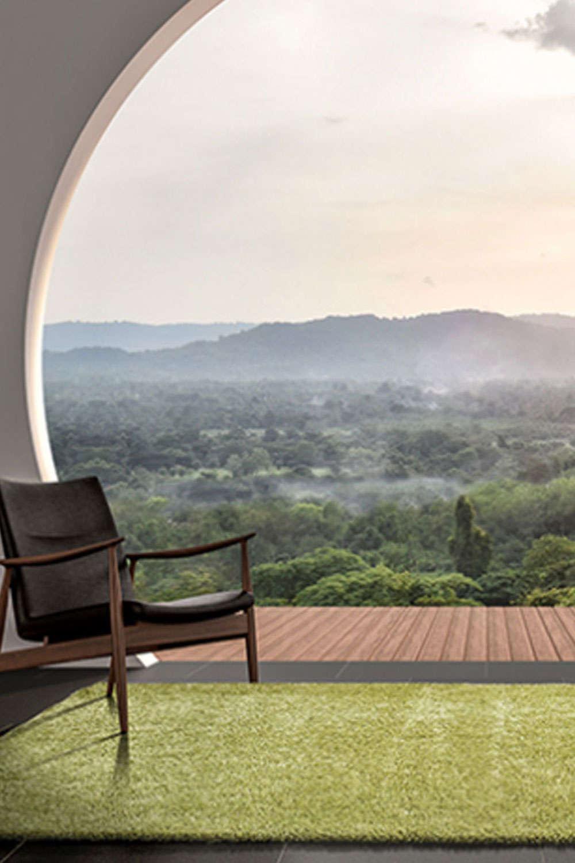 Χαλί Armonia Green 71151/040 Carpet Couture 140X200