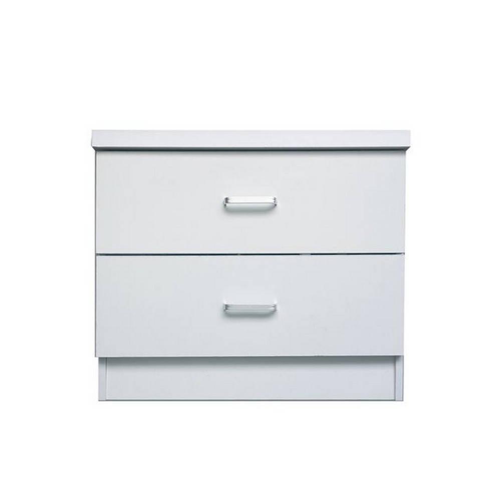 Κομοδίνο Decon White Ε7393,1 40x40x45cm