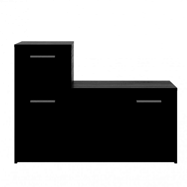 Παπουτσοθήκη – Ντουλάπι Luna Wenge 100X28X73 cm TO-LUNA1S1DWEGE