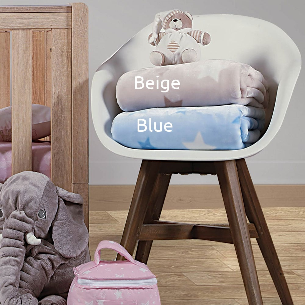 Κουβέρτα Galaxy Beige Nef-Nef Κούνιας 100x140cm